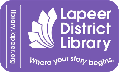 Lapeer District Library: Where Your Story Begins. website: library.lapeer.org