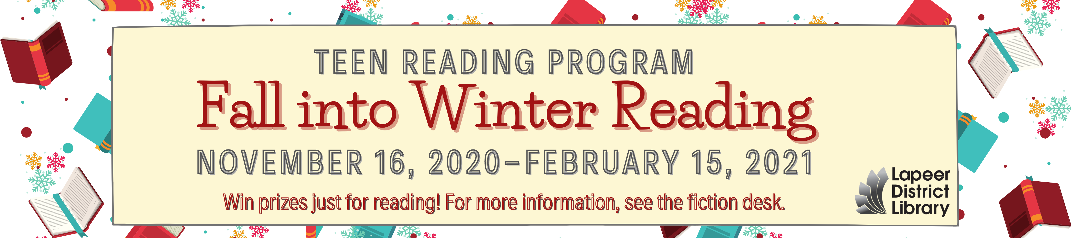 Fall into Winter Reading Teen