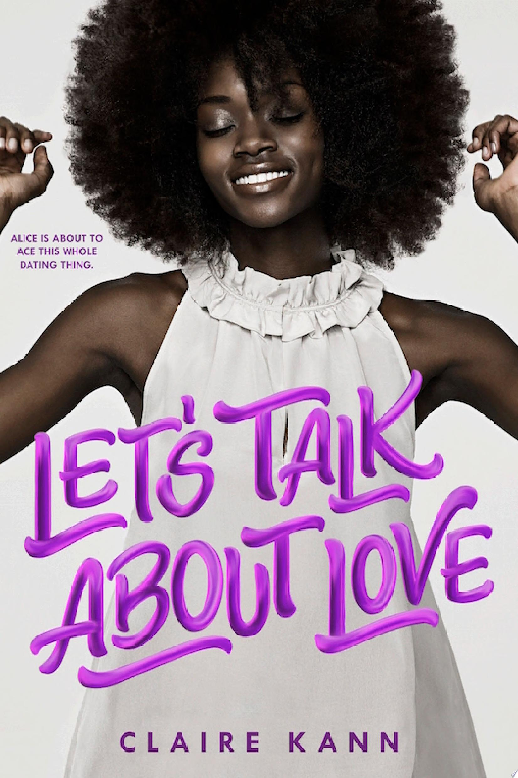 "Image for ""Let's Talk About Love"""