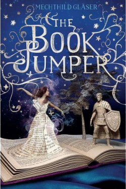 "Book cover for ""The Book Jumper"""