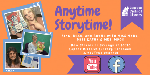 Anytime Storytime Jan-Feb 2021